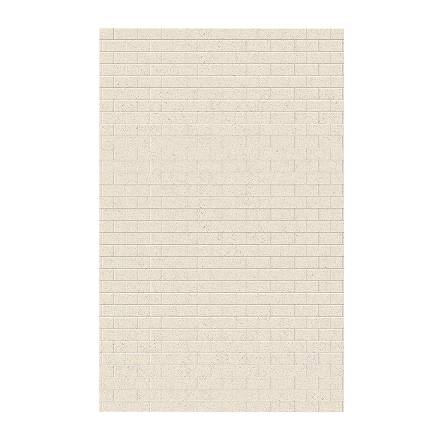 Swanstone Tahiti Desert Shower Wall Surround Side Panel (Common: 0.25-in x 62-in; Actual: 96-in x 0.25-in x 62-in)