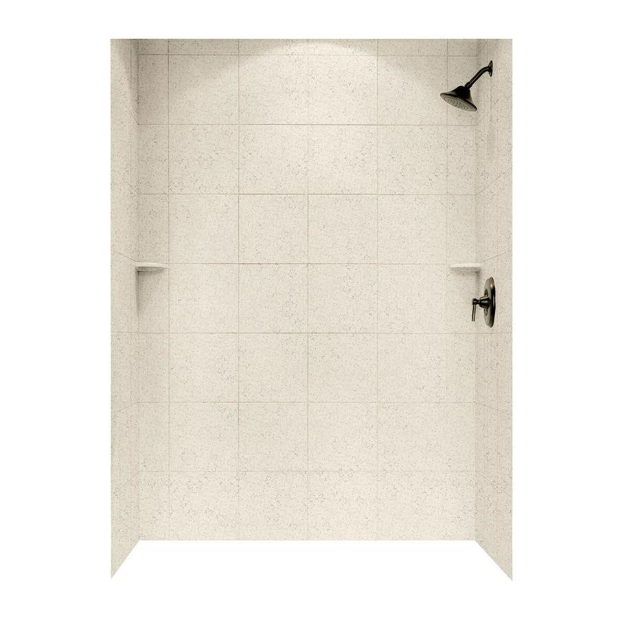 Swanstone Tahiti Desert Shower Wall Surround Side and Back Wall Kit (Common: 62-in x 36-in; Actual: 72.5-in x 62-in x 36-in)