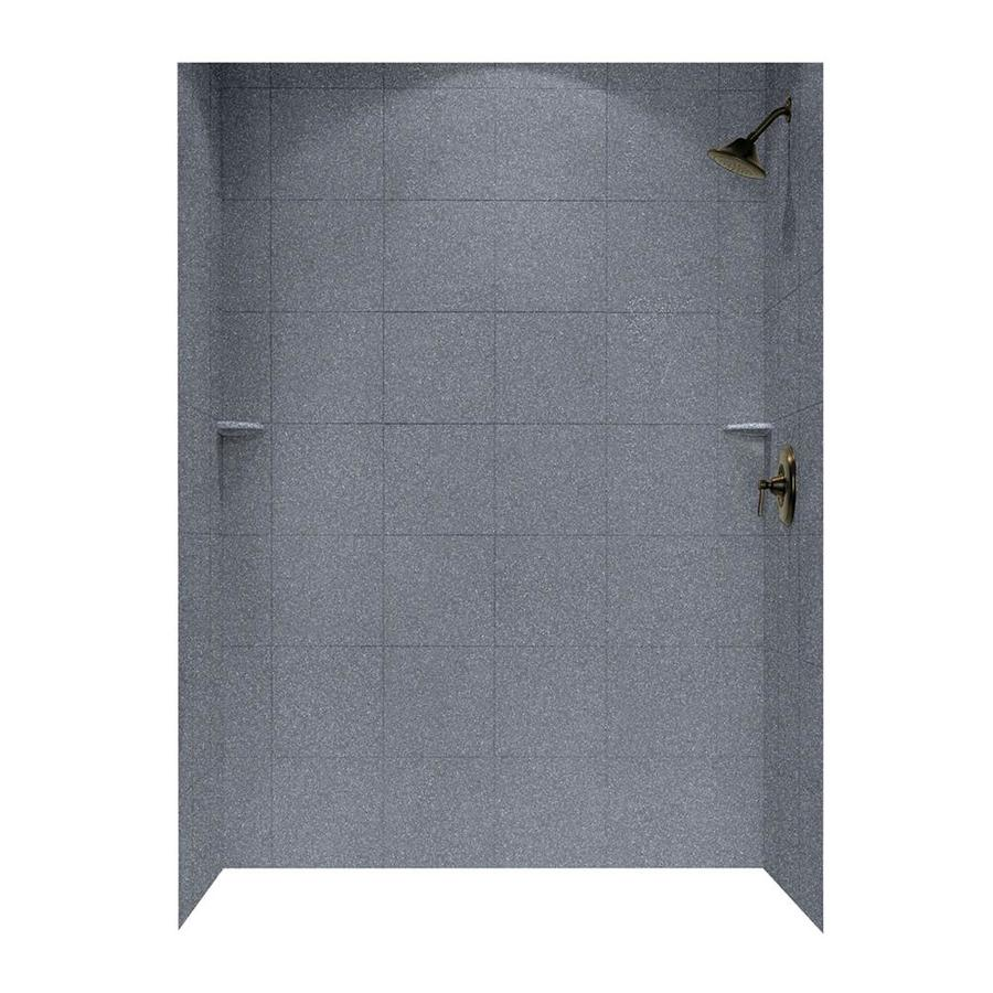 Swanstone Night Sky Shower Wall Surround Side And Back Wall Kit (Common: 62-in x 36-in; Actual: 96-in x 62-in x 36-in)