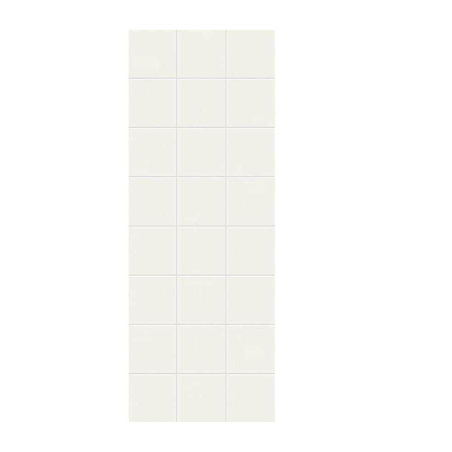 Swanstone Bisque Shower Wall Surround Side Panel (Common: 0.25-in x 36-in; Actual: 96-in x 0.25-in x 36-in)