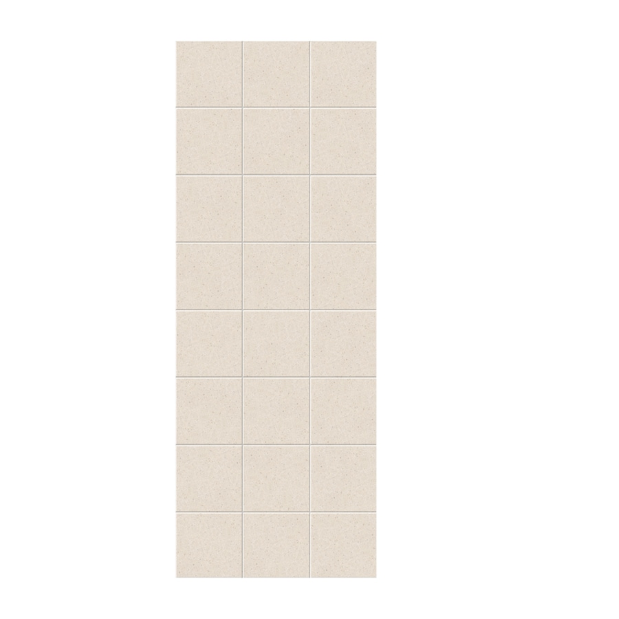Swanstone Tahiti Sand Shower Wall Surround Side Panel (Common: 0.25-in x 36-in; Actual: 96-in x 0.25-in x 36-in)