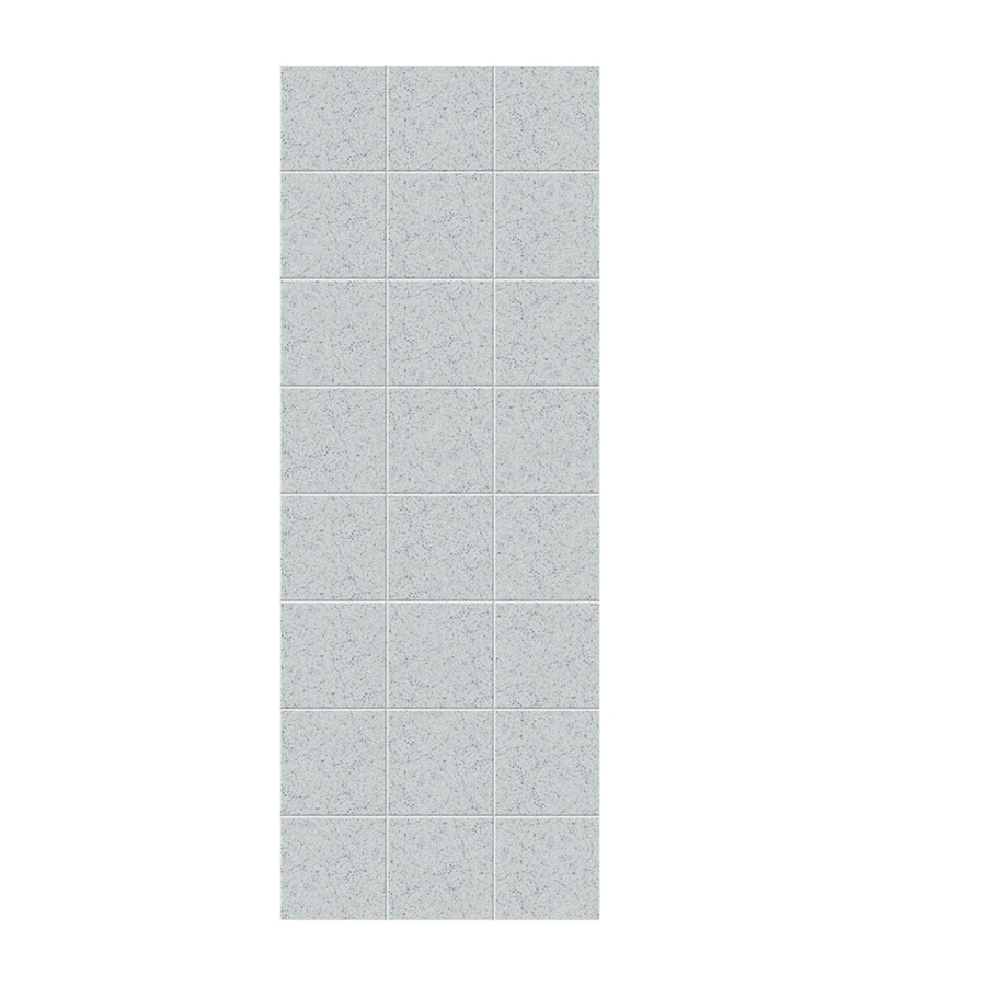 Swanstone Tahiti Gray Shower Wall Surround Side Panel (Common: 0.25-in x 36-in; Actual: 96-in x 0.25-in x 36-in)
