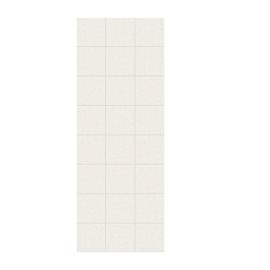 Swanstone Tahiti Matrix Shower Wall Surround Side Wall Panel (Common: 0.25-in x 36-in; Actual: 96-in x 0.25-in x 36-in)