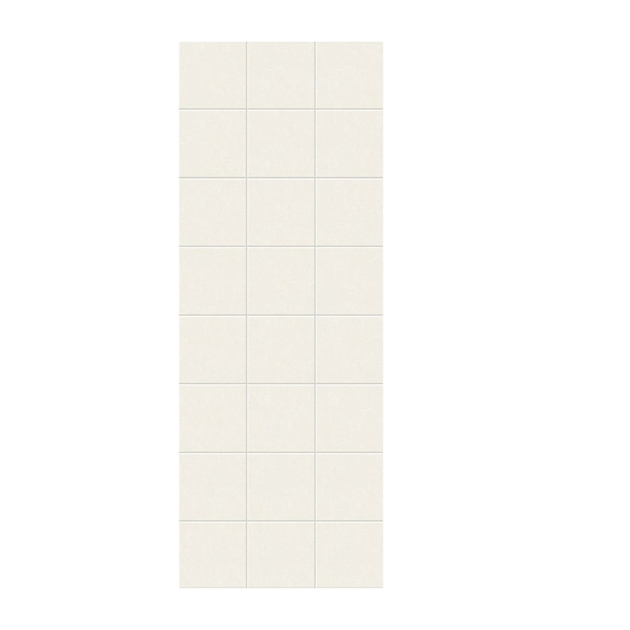 Swanstone Tahiti Ivory Shower Wall Surround Side Wall Panel (Common: 0.25-in x 36-in; Actual: 96-in x 0.25-in x 36-in)