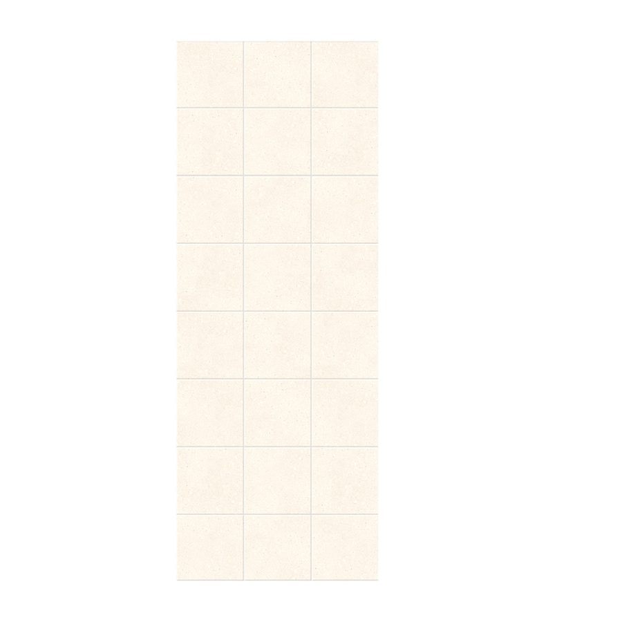 Swanstone Pebble Shower Wall Surround Side Wall Panel (Common: 0.25-in x 36-in; Actual: 96-in x 0.25-in x 36-in)