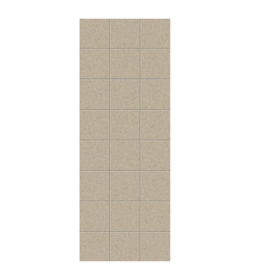 Swanstone Prairie Shower Wall Surround Side Wall Panel (Common: 0.25-in x 36-in; Actual: 96-in x 0.25-in x 36-in)