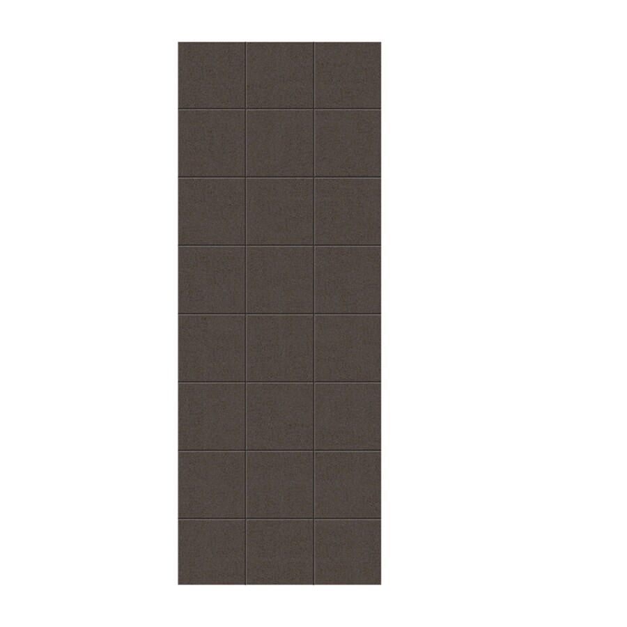 Swanstone Canyon Shower Wall Surround Side Panel (Common: 0.25-in x 36-in; Actual: 96-in x 0.25-in x 36-in)