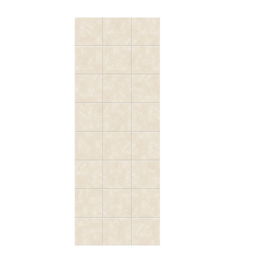Swanstone Cloud Bone Shower Wall Surround Side Wall Panel (Common: 0.25-in x 36-in; Actual: 96-in x 0.25-in x 36-in)
