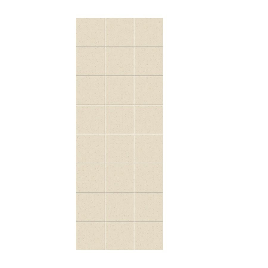 Swanstone Caraway Seed Shower Wall Surround Side Wall Panel (Common: 0.25-in x 36-in; Actual: 96-in x 0.25-in x 36-in)