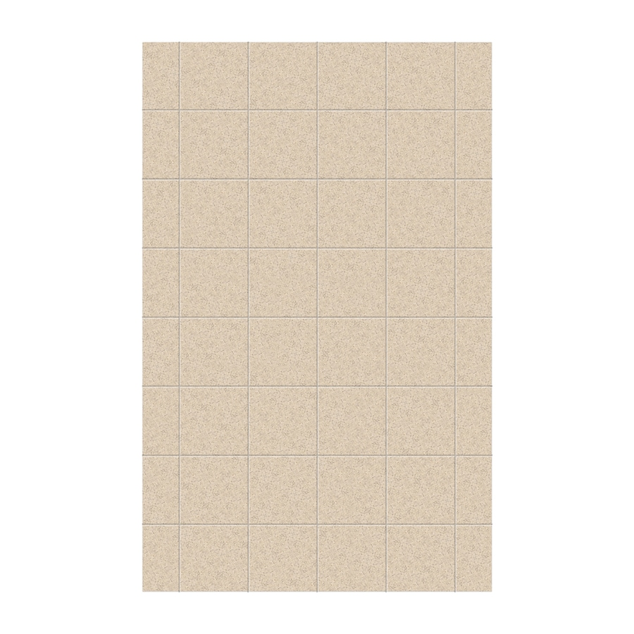 Swanstone Bermuda Sand Shower Wall Surround Side Panel (Common: 0.25-in x 62-in; Actual: 96-in x 0.25-in x 62-in)
