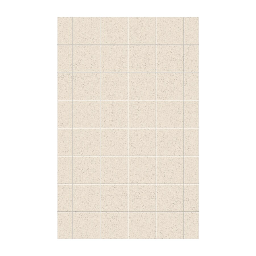Swanstone Tahiti Desert Shower Wall Surround Side Wall Panel (Common: 0.25-in x 62-in; Actual: 96-in x 0.25-in x 62-in)