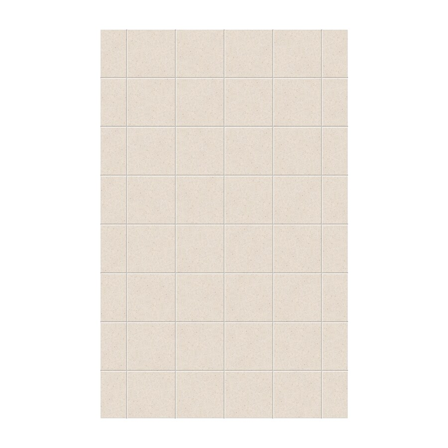 Swanstone Tahiti Sand Shower Wall Surround Side Panel (Common: 0.25-in x 62-in; Actual: 96-in x 0.25-in x 62-in)