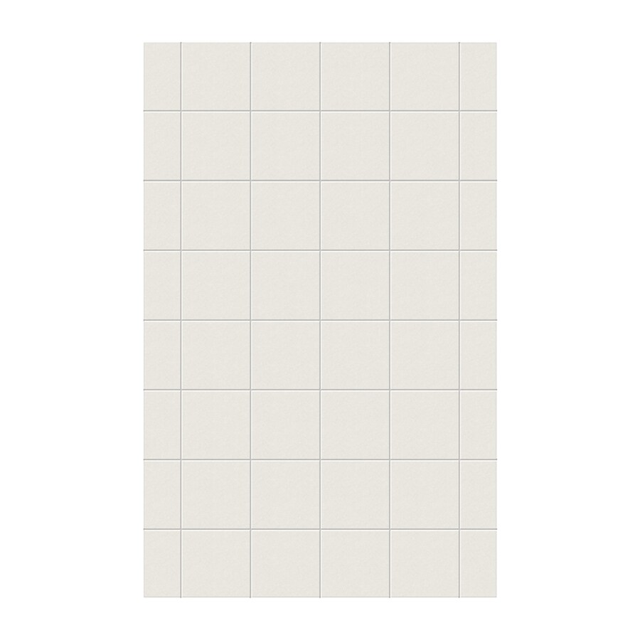 Swanstone Glacier Shower Wall Surround Side Wall Panel (Common: 0.25-in x 62-in; Actual: 96-in x 0.25-in x 62-in)