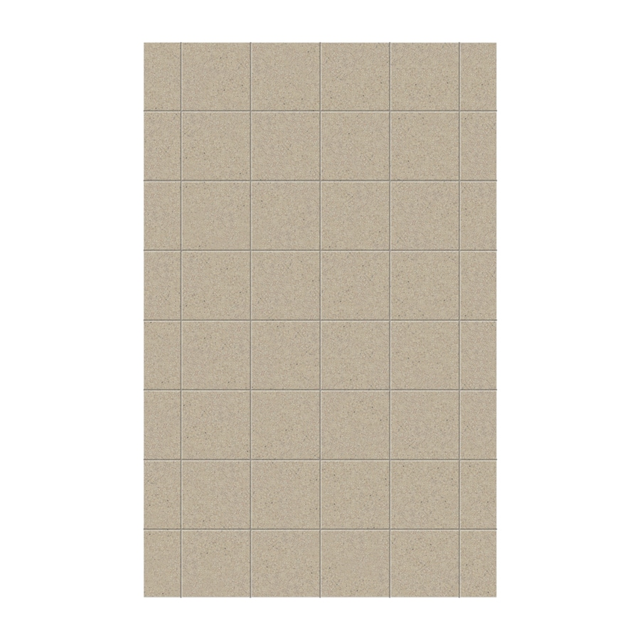 Swanstone Prairie Shower Wall Surround Side Wall Panel (Common: 0.25-in x 62-in; Actual: 96-in x 0.25-in x 62-in)