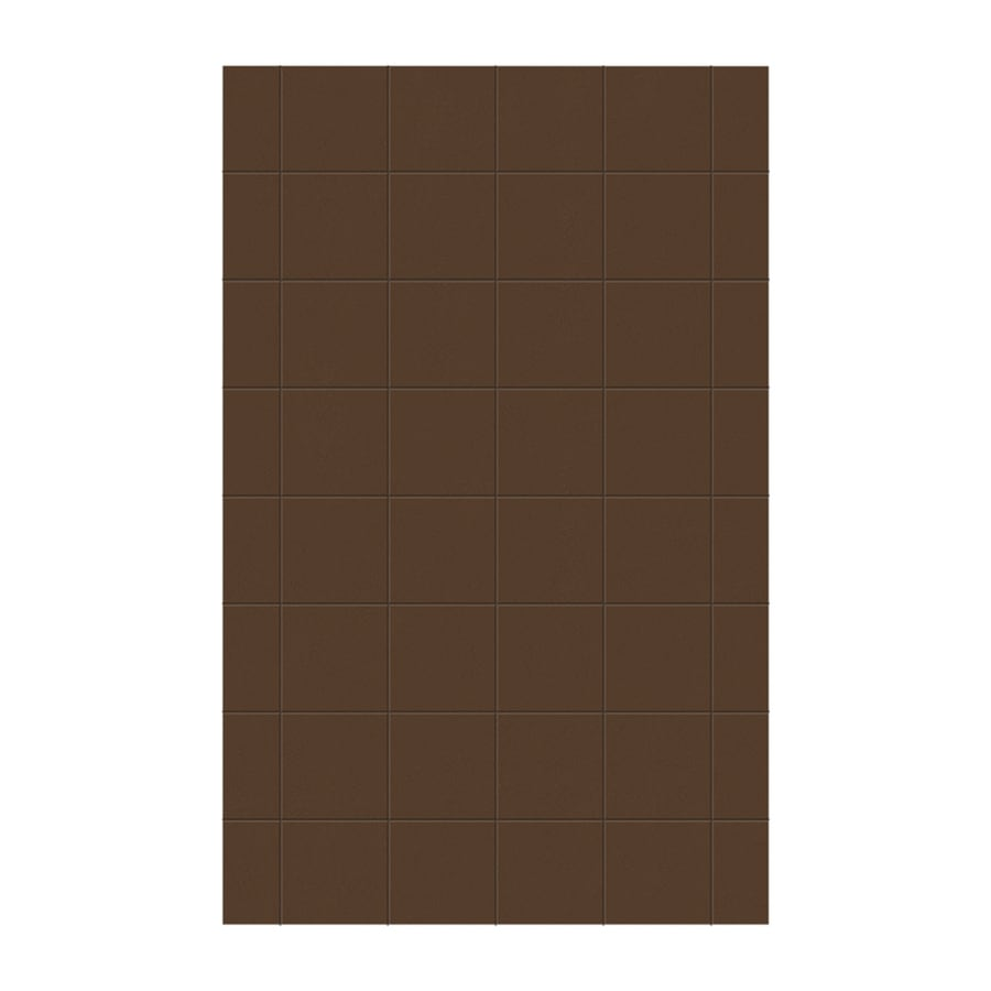 Swanstone Acorn Shower Wall Surround Side Panel (Common: 0.25-in x 62-in; Actual: 96-in x 0.25-in x 62-in)