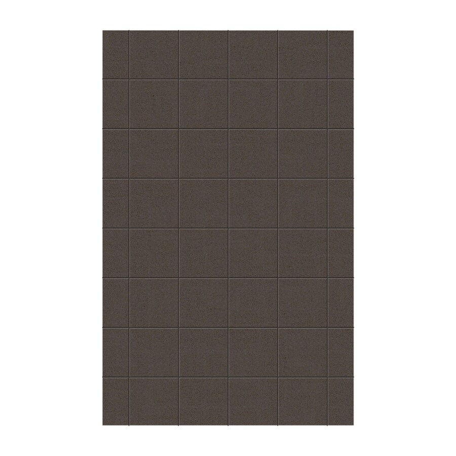 Swanstone Canyon Shower Wall Surround Side Panel (Common: 0.25-in x 62-in; Actual: 96-in x 0.25-in x 62-in)
