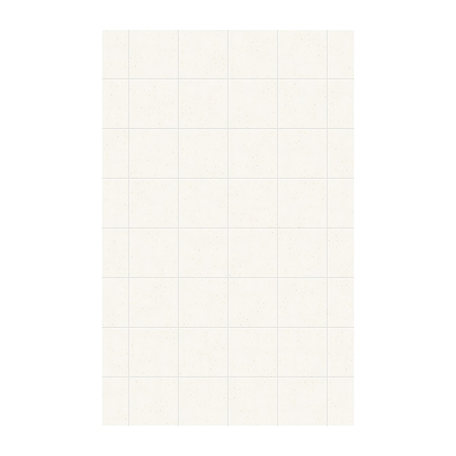 Swanstone Baby's Breath Shower Wall Surround Side Panel (Common: 0.25-in x 62-in; Actual: 96-in x 0.25-in x 62-in)