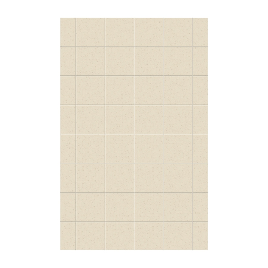 Swanstone Caraway Seed Shower Wall Surround Side Wall Panel (Common: 0.25-in x 62-in; Actual: 96-in x 0.25-in x 62-in)
