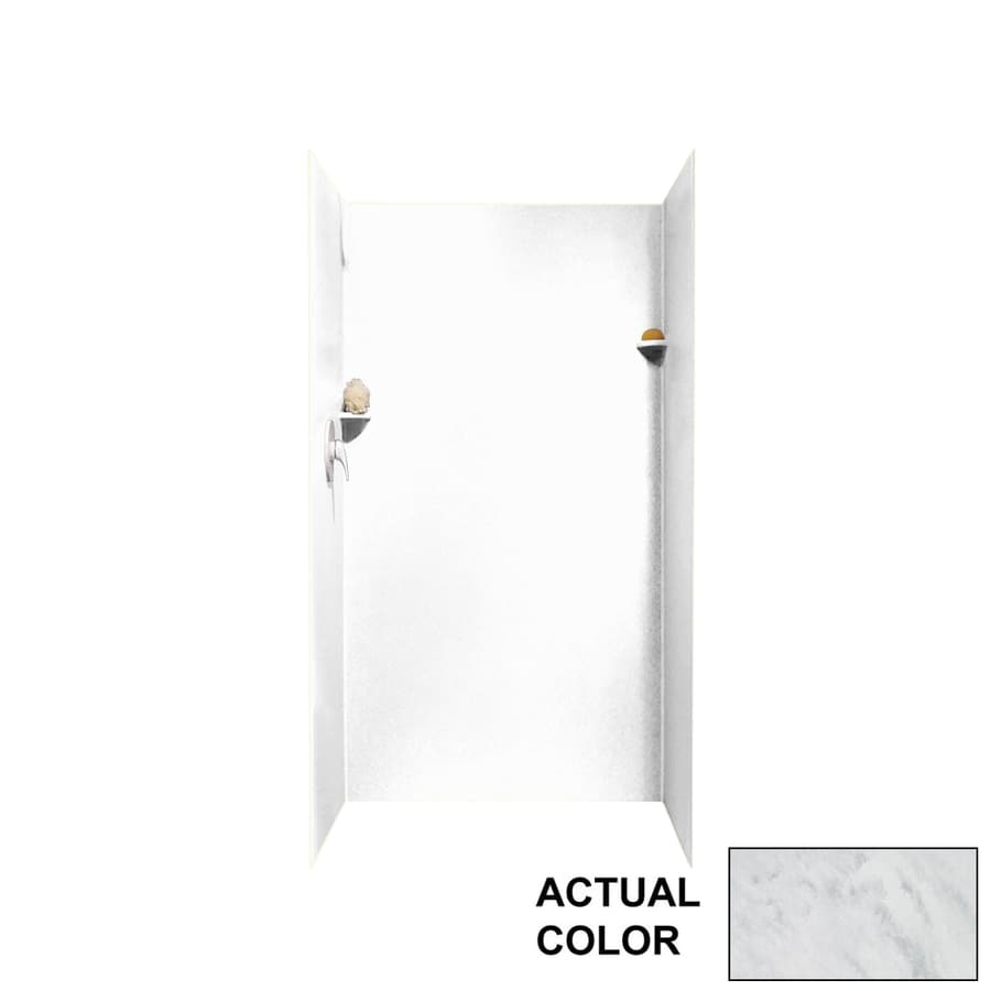 Swanstone Tundra Shower Wall Surround Side and Back Walls (Common: 36-in x 36-in; Actual: 72-in x 36-in x 36-in)