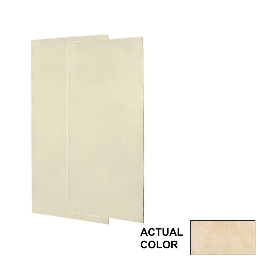 Swanstone Golden Steppe Shower Wall Surround Side Wall Panel Kit (Common: 0.25-in x 36-in; Actual: 96-in x 0.25-in x 36-in)