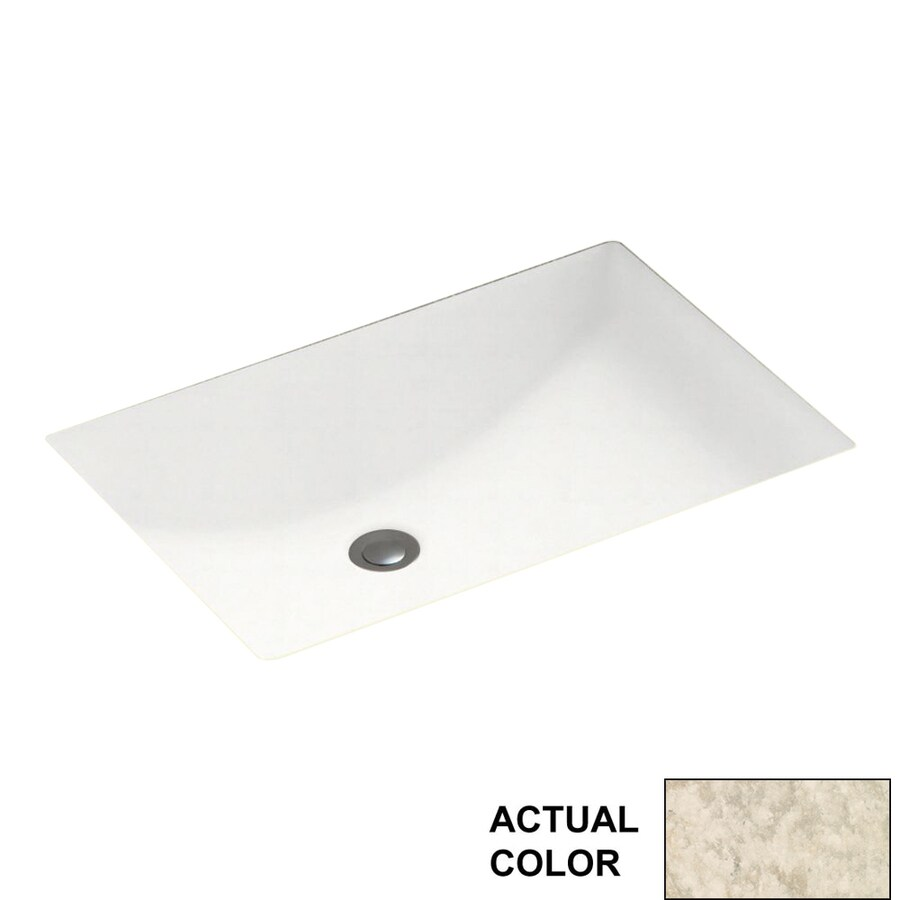 Shop swanstone mountain haze solid surface undermount for Swanstone undermount sinks