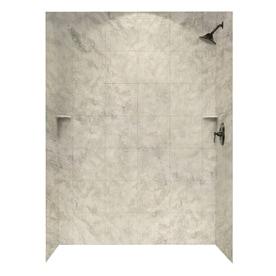Shop Shower Walls Surrounds At Lowescom - Faux marble shower surround