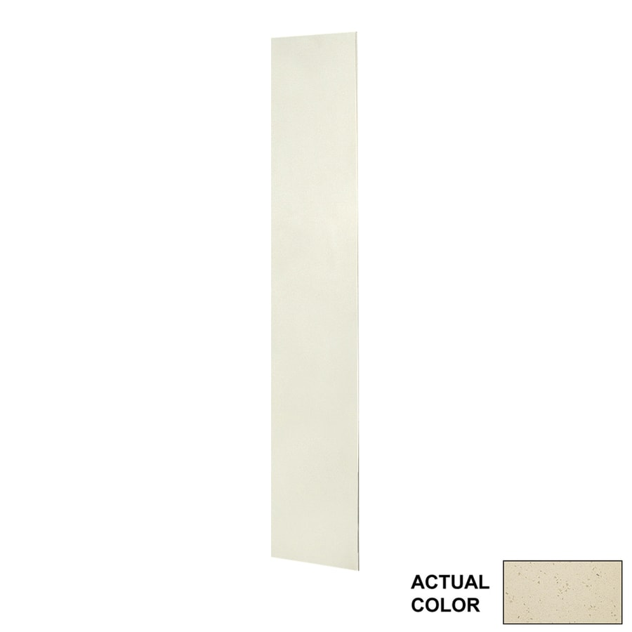 Swanstone Crystal Cream Shower Wall Surround Back Panel (Common: 0.25-in x 12-in; Actual: 72-in x 0.25-in x 12-in)