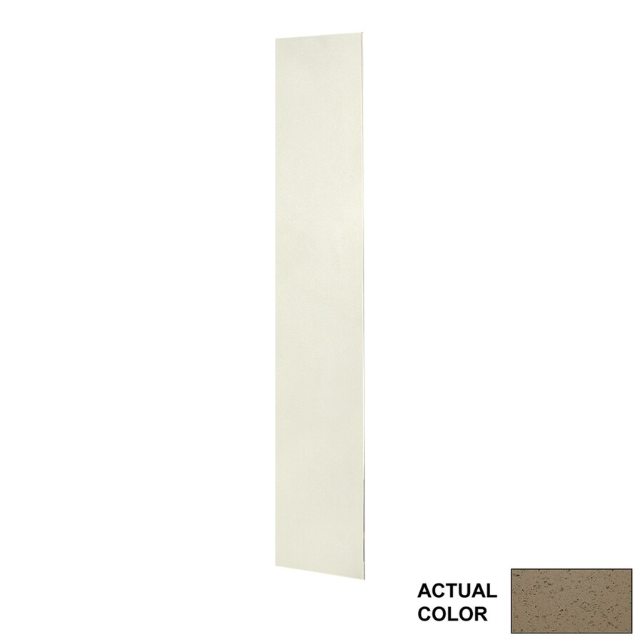 Swanstone Caramel Glass Shower Wall Surround Back Wall Panel (Common: 0.25-in x 12-in; Actual: 72-in x 0.25-in x 12-in)
