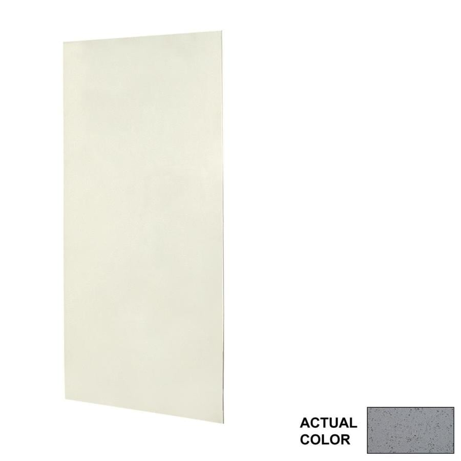 Swanstone Gray Glass Shower Wall Surround Side Wall Panel Kit (Common: 0.25-in x 36-in; Actual: 72-in x 0.25-in x 36-in)