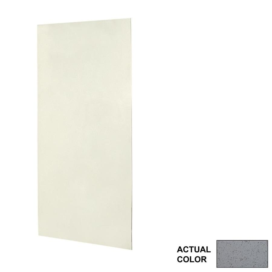 Swanstone Gray Glass Shower Wall Surround Side Panel (Common: 0.25-in x 36-in; Actual: 96-in x 0.25-in x 36-in)