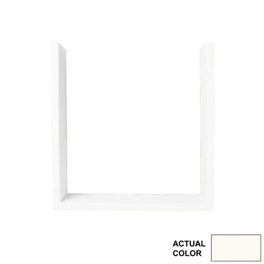Swanstone Bright White Shower Wall Window Trim Kit