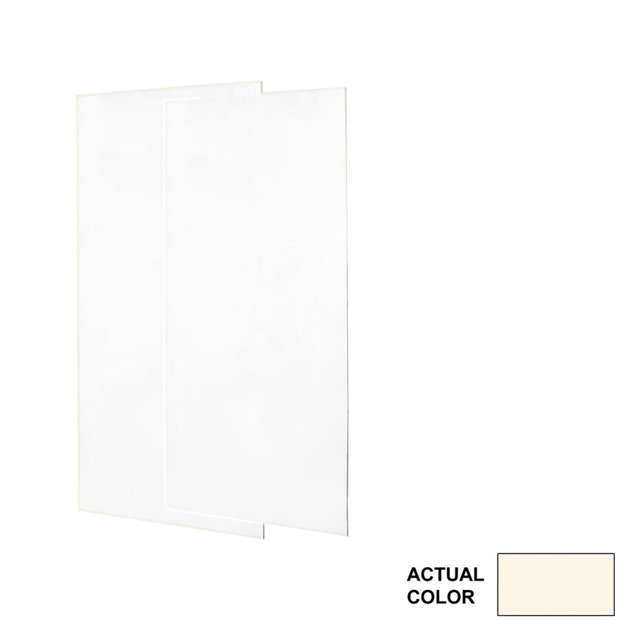 Swanstone Pearl Shower Wall Surround Side Wall Panel Kit (Common: 0.25-in x 36-in; Actual: 96-in x 0.25-in x 36-in)