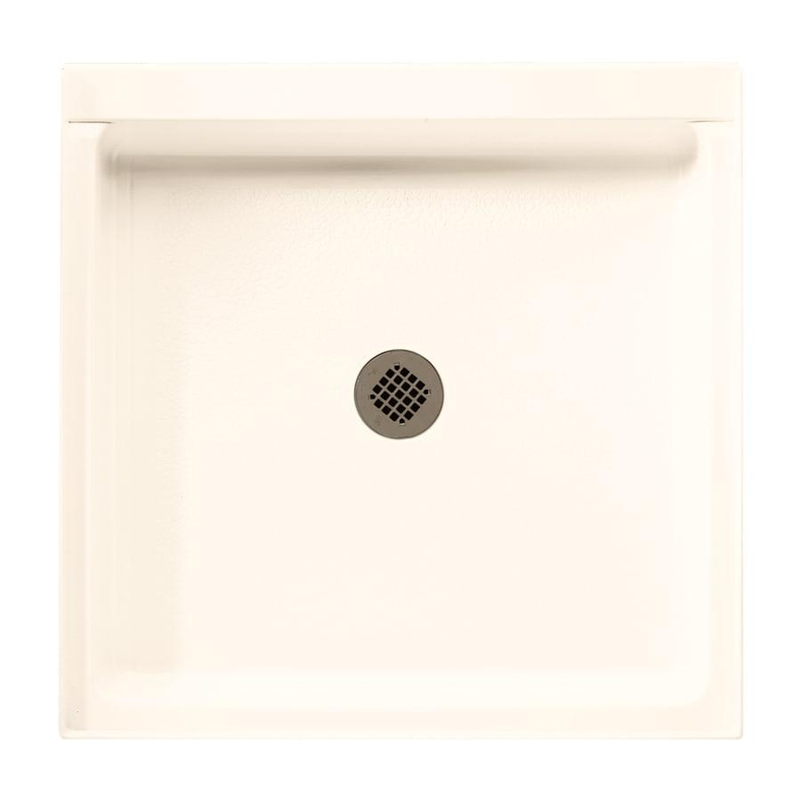Swanstone Pearl Veritek Shower Base (Common: 36-in W x 36-in L; Actual: 36.1875-in W x 36.375-in L)