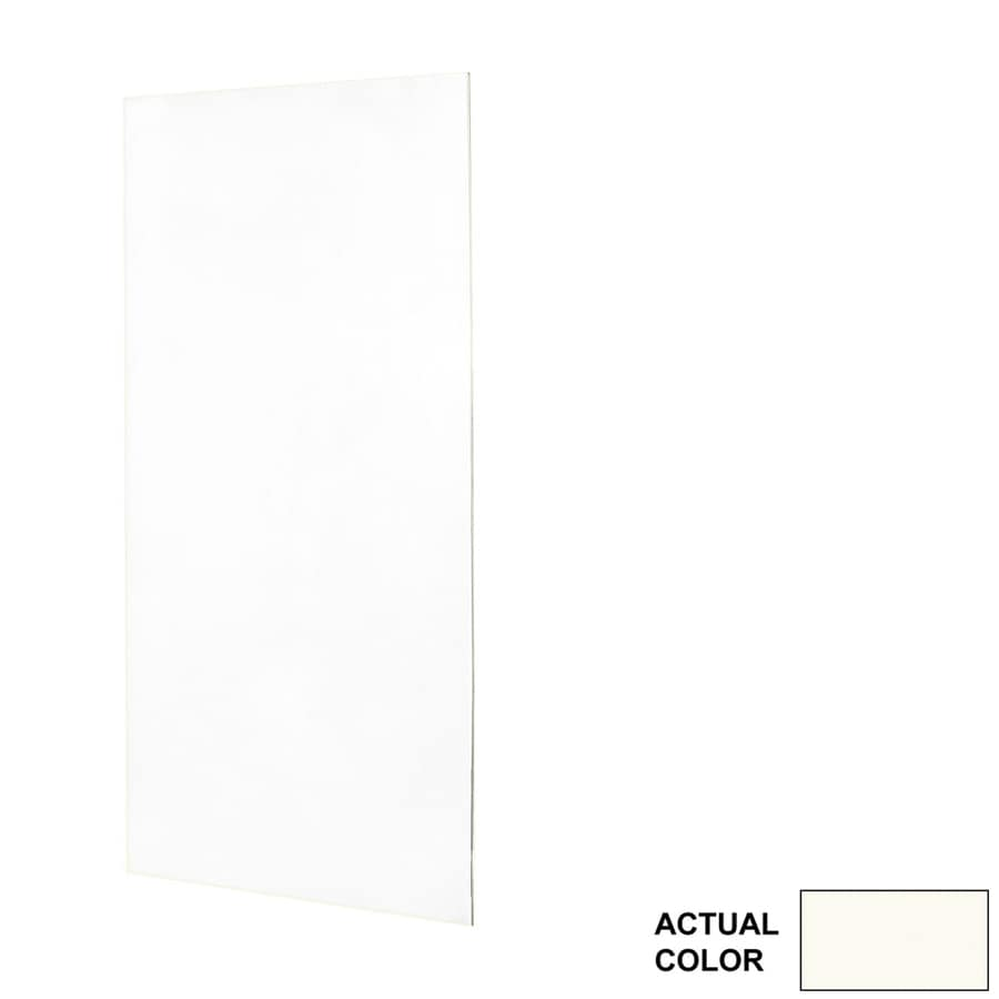 Swanstone Bright White Shower Wall Surround Back Wall Panel (Common: 0.25-in x 48-in; Actual: 96-in x 0.25-in x 48-in)
