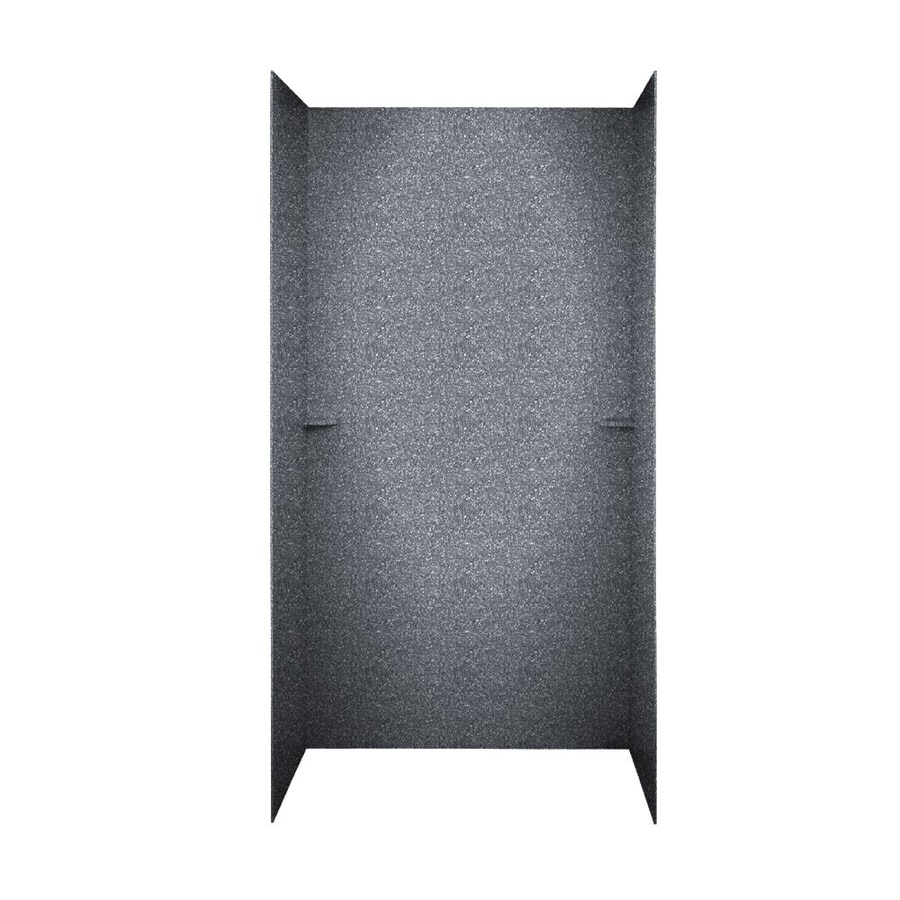 Swanstone Night Sky Shower Wall Surround Side And Back Wall Kit (Common: 48-in x 36-in; Actual: 72-in x 48-in x 36-in)