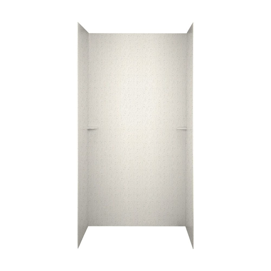 Swanstone Tahiti Matrix Shower Wall Surround Side and Back Walls (Common: 48-in x 36-in; Actual: 72-in x 48-in x 36-in)