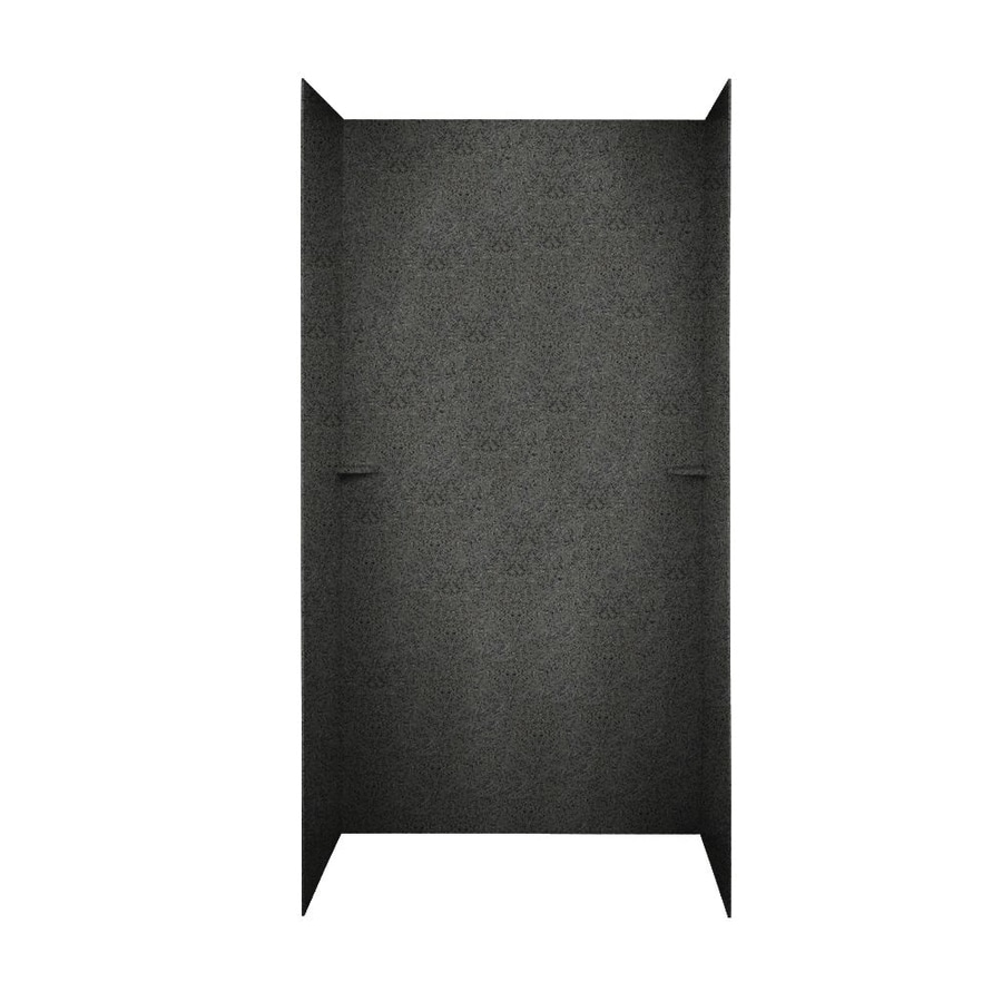 Swanstone Indian Grass Shower Wall Surround Side And Back Wall Kit (Common: 48-in x 36-in; Actual: 72-in x 48-in x 36-in)