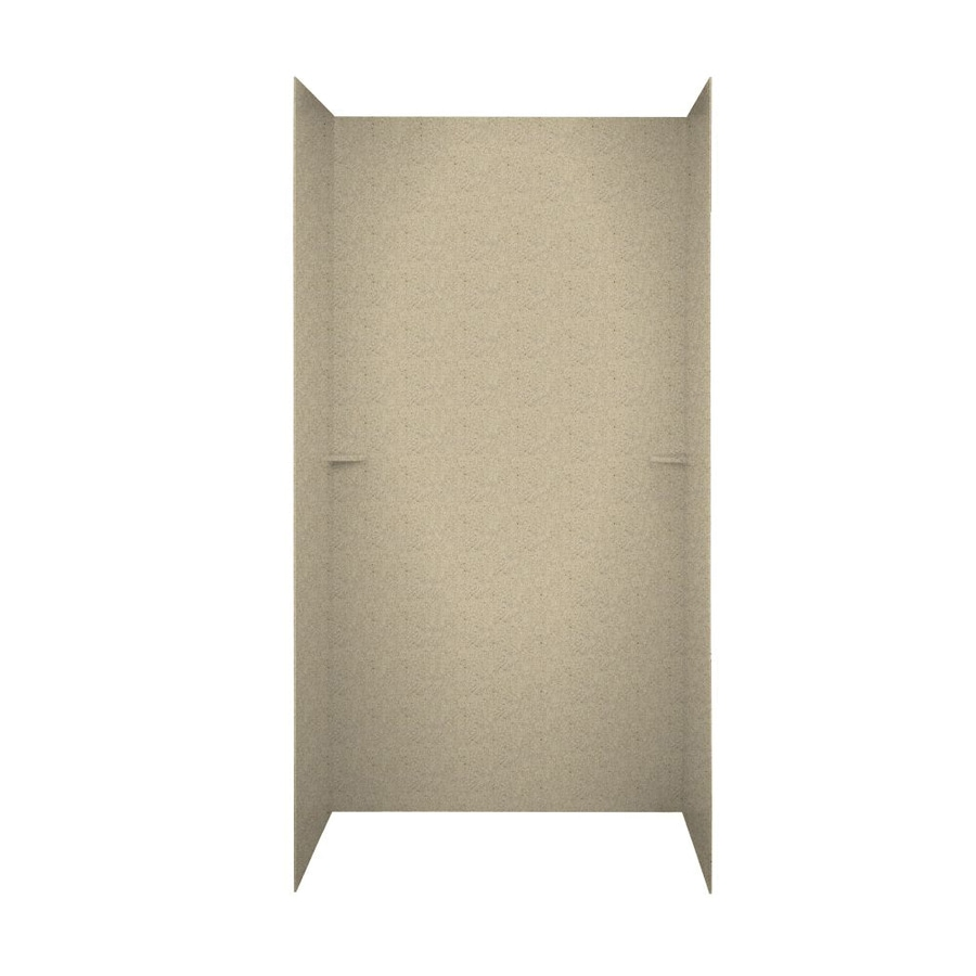 Swanstone Prairie Shower Wall Surround Side and Back Walls (Common: 48-in x 36-in; Actual: 72-in x 48-in x 36-in)