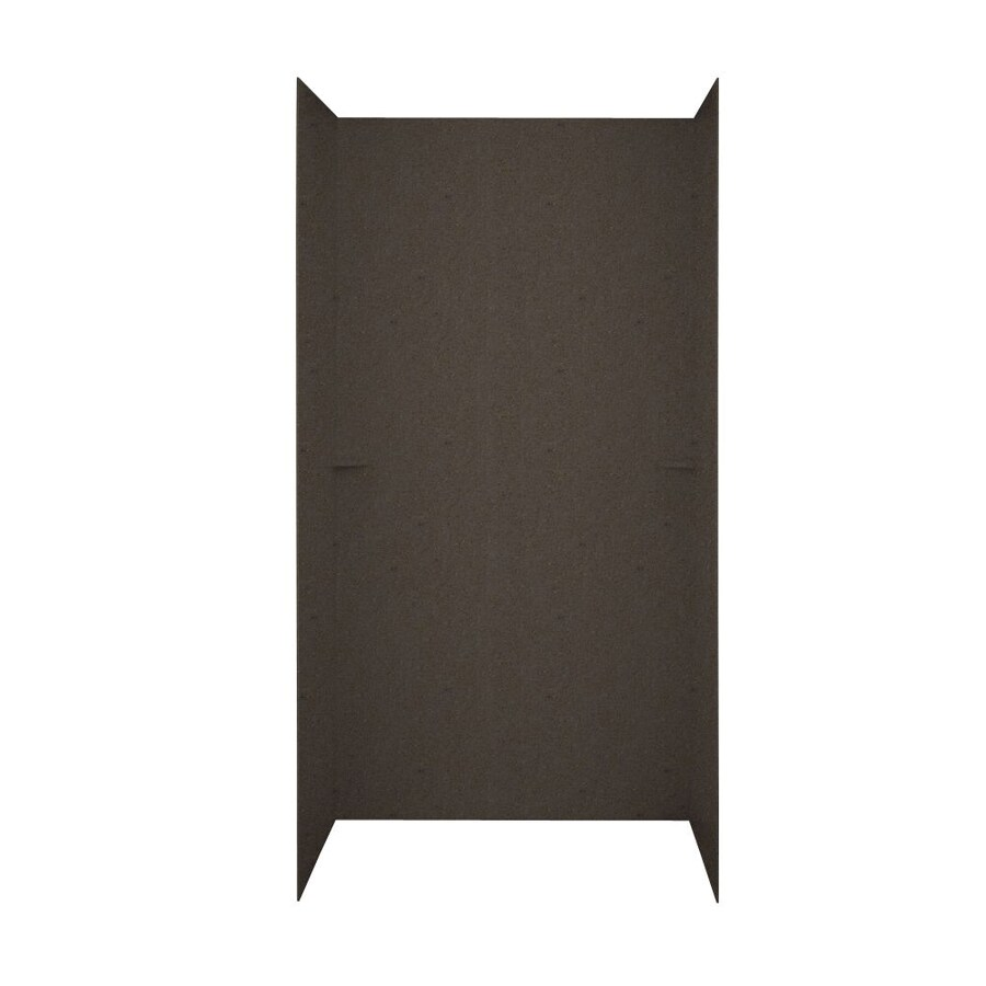 Swanstone Canyon Shower Wall Surround Side and Back Walls (Common: 48-in x 36-in; Actual: 72-in x 48-in x 36-in)