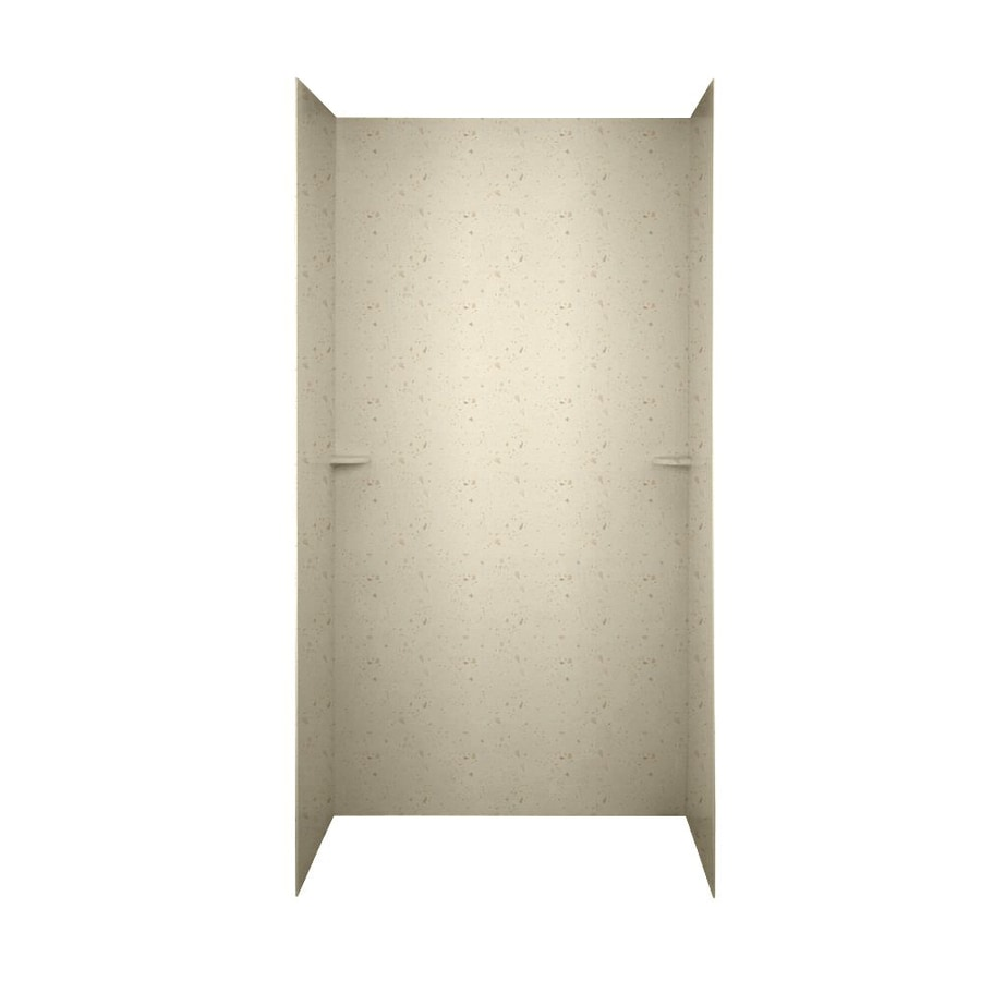 Swanstone Caraway Seed Shower Wall Surround Side And Back Wall Kit (Common: 48-in x 36-in; Actual: 72-in x 48-in x 36-in)