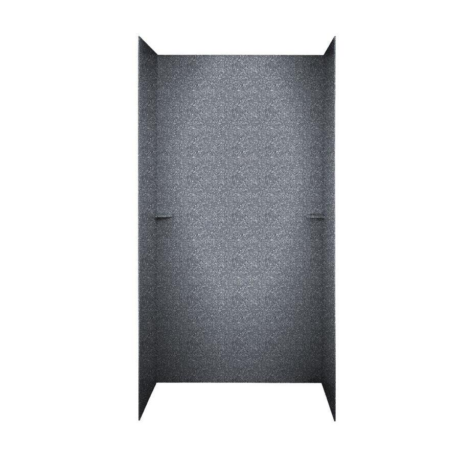 Swanstone Night Sky Shower Wall Surround Side and Back Walls (Common: 60-in x 36-in; Actual: 72-in x 60-in x 36-in)
