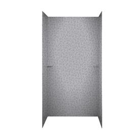 Swanstone Shower Wall Surround Side And Back Panels (Common: 60 In X 36
