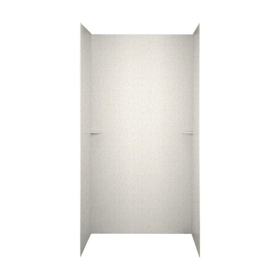 Swanstone Tahiti Matrix Shower Wall Surround Side and Back Wall Kit (Common: 60-in x 36-in; Actual: 72-in x 60-in x 36-in)