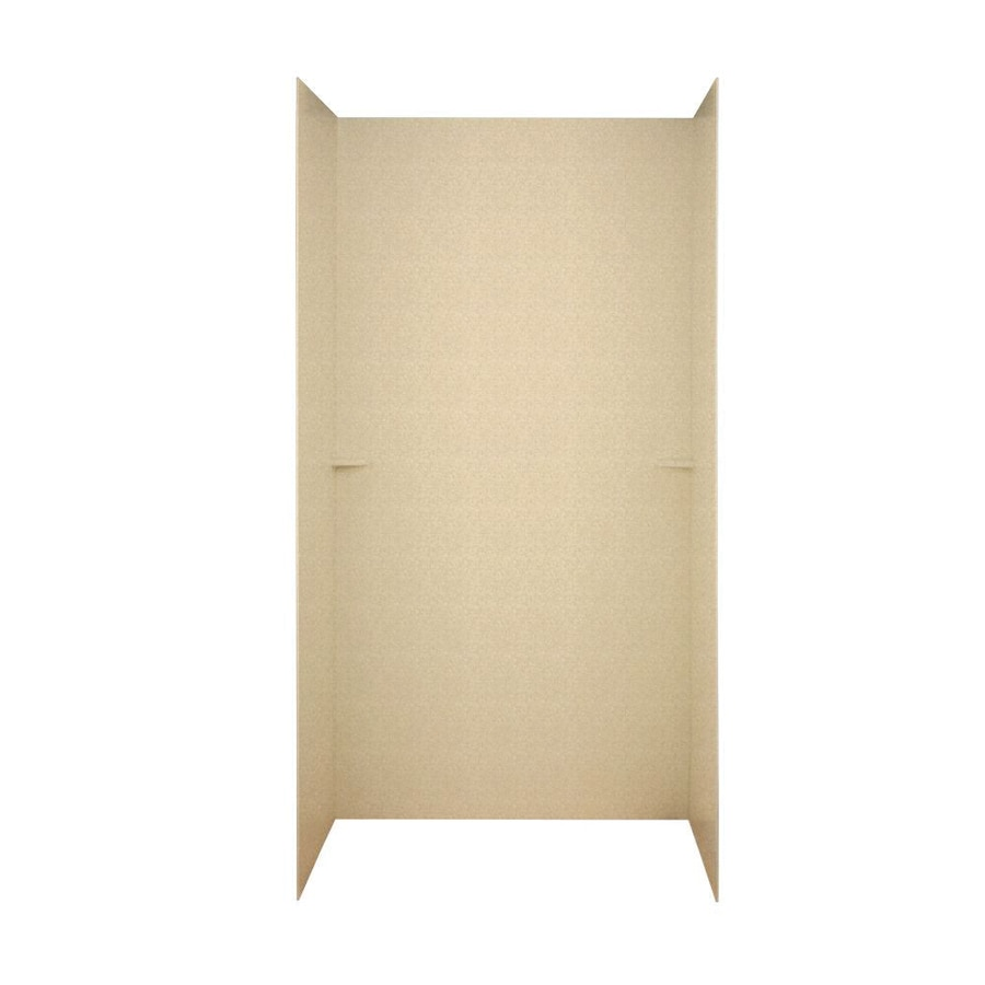 Swanstone Cornflower Shower Wall Surround Side and Back Wall Kit (Common: 60-in x 36-in; Actual: 72-in x 60-in x 36-in)