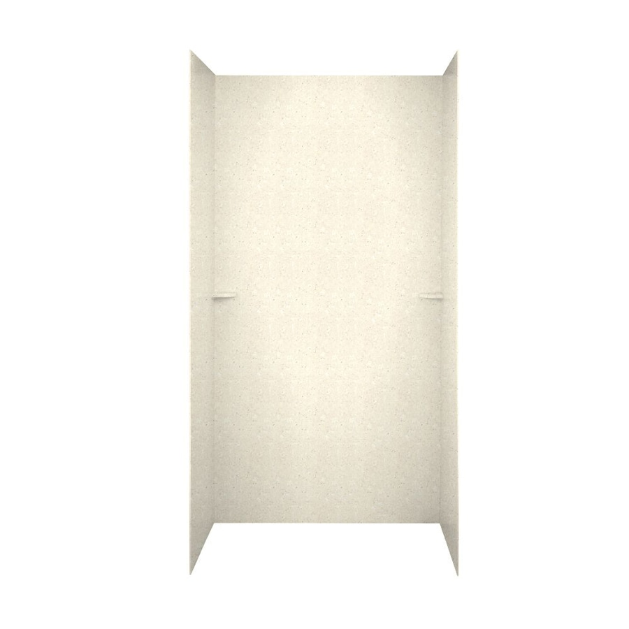 Swanstone Pebble Shower Wall Surround Side and Back Walls (Common: 60-in x 36-in; Actual: 72-in x 60-in x 36-in)