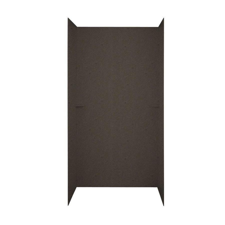 Swanstone Canyon Shower Wall Surround Side and Back Wall Kit (Common: 60-in x 36-in; Actual: 72-in x 60-in x 36-in)