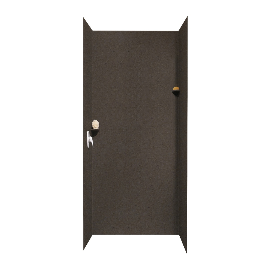 Swanstone Canyon Shower Wall Surround Side And Back Wall Kit (Common: 36-in x 36-in; Actual: 96-in x 36-in x 36-in)