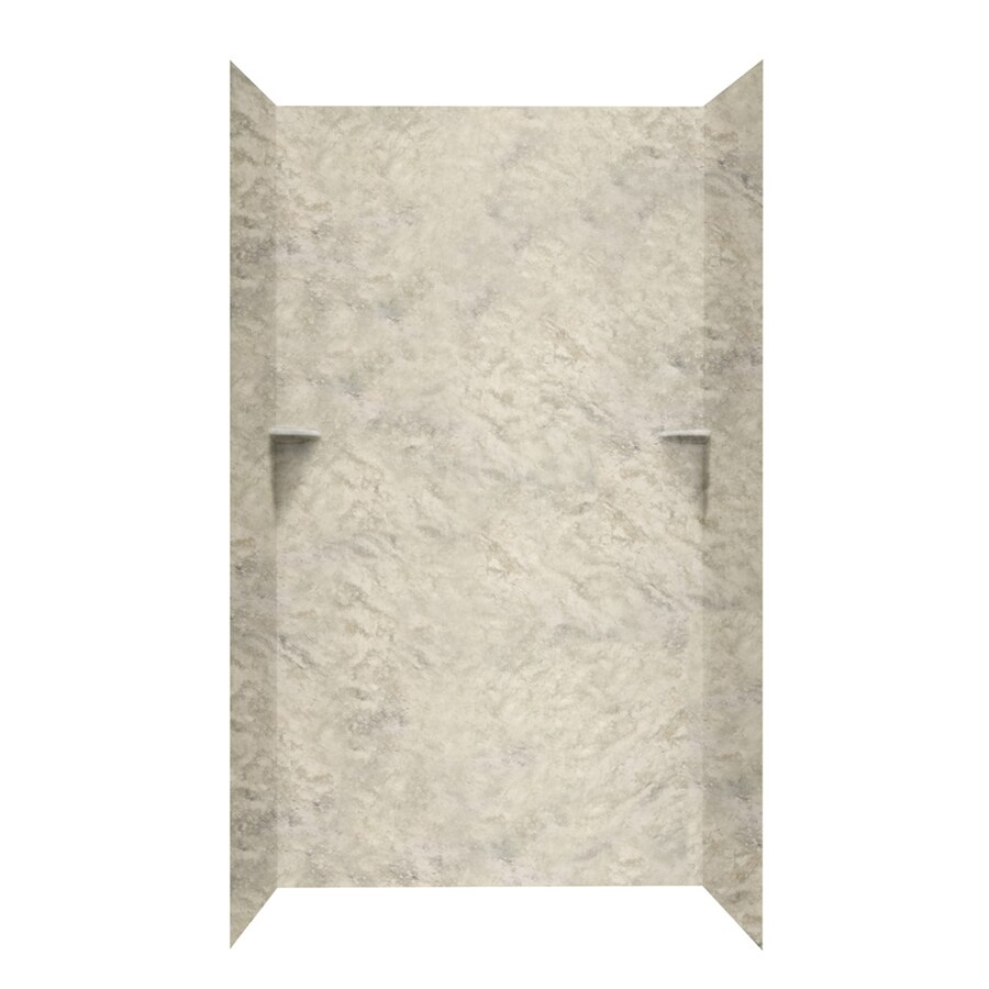 Swanstone Mountain Haze Shower Wall Surround Side and Back Walls (Common: 36-in x 36-in; Actual: 96-in x 36-in x 36-in)