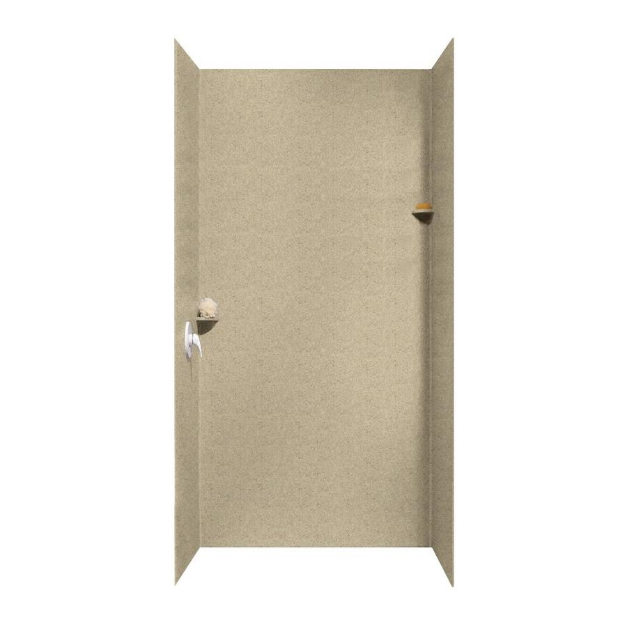 Swanstone Prairie Shower Wall Surround Side And Back Wall Kit (Common: 48-in x 36-in; Actual: 96-in x 48-in x 36-in)