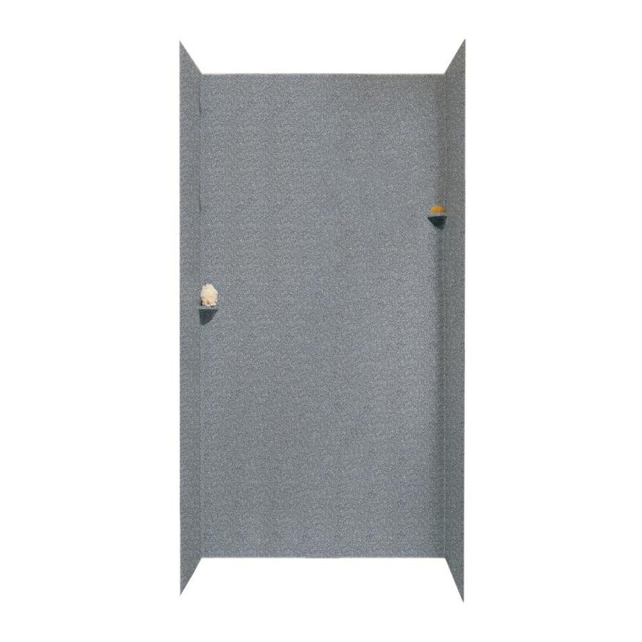 Swanstone Night Sky Shower Wall Surround Side And Back Wall Kit (Common: 48-in x 48-in; Actual: 96-in x 48-in x 48-in)